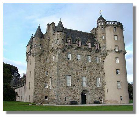 Scottish Castles Photo Library - Castle Fraser, Aberdeenshire
