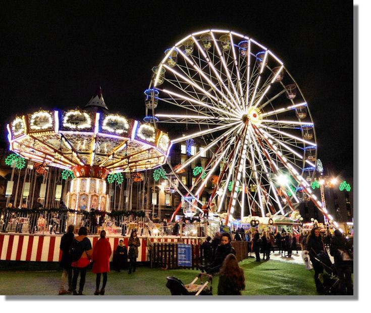 Light Shop In Edinburgh: Glasgow Christmas Lights