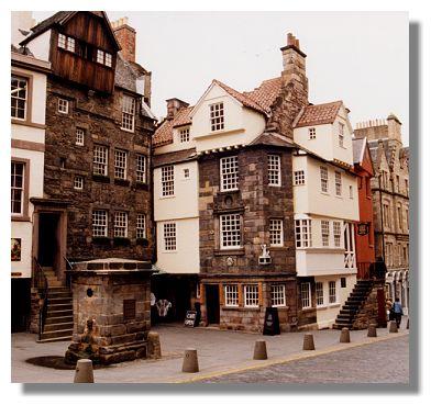 Edinburgh photo library john knox house for Classic house edinburgh