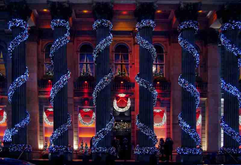 Dome Christmas Lights
