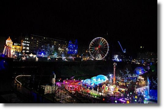 Magnificent Rampant Scotland Christmas Lights Edinburgh 2012 Easy Diy Christmas Decorations Tissureus
