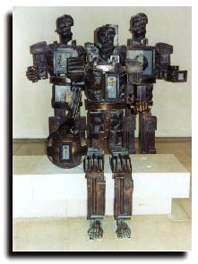 Paolozzi Sculpture, Museum of Scotland
