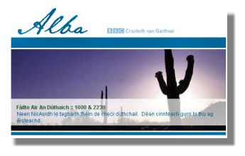 BBC - Alba - Dachaigh