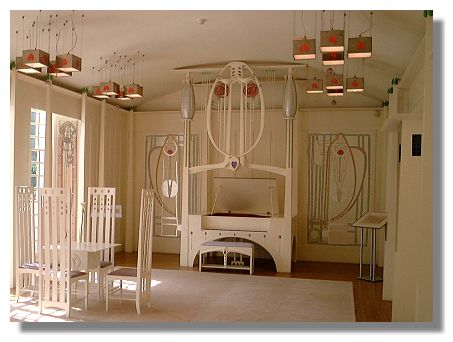 Design Home Furniture on Designed By Charles Rennie Mackintosh In 1901 House For An Art Lover