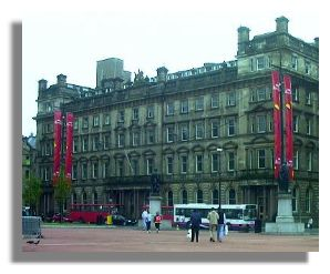 Former Post Office building, George Square