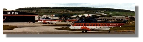 Bristow Helicopters at Aberdeen