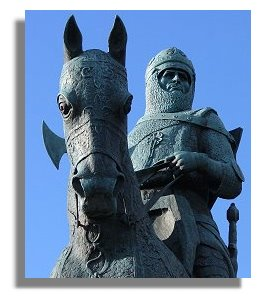 King Robert the Bruce at Bannockburn