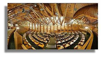 Scottish Parliament Debating Chamber
