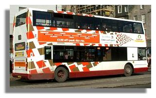 lothian buses disruption
