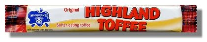 McCowans Toffee Bar
