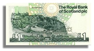 Royal Bank of Scotland One Pound Note