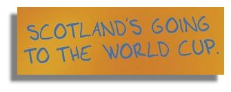 Scotland's Going to the World Cup