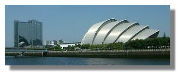 Moathouse Hotel and Clyde Auditorium at the Scottish Exhibition and Conference Centre