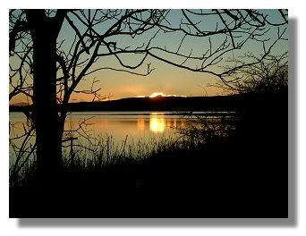 Sunset at Castle Semple Loch