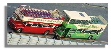 Edinburgh Open Top Buses