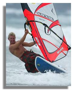 Image result for windsurfing in a kilt