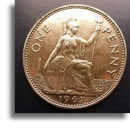 1960 Half Penny Pre Decimal Currency Circulated
