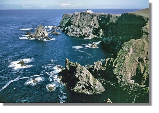 Scottish Lighthouses - Fair Isle North