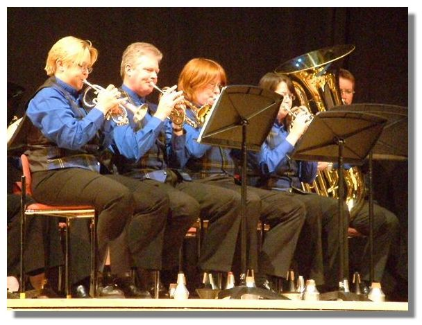 The Scottish Co-Op Band were on stage for most of the Scottish Tattoo as