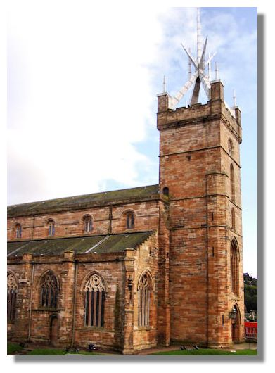 St. Michael's Parish Church in Linlithgow is one of the largest burgh